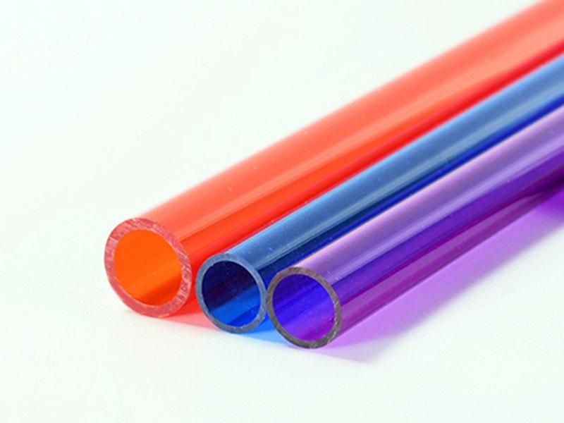 Colored Plexiglass Tube
