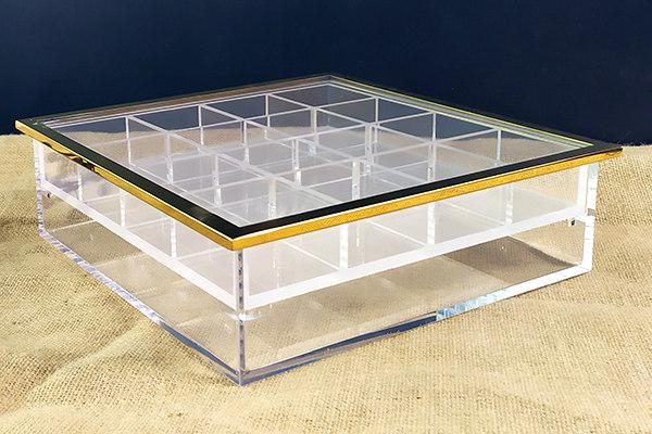 Custom Acrylic application Box