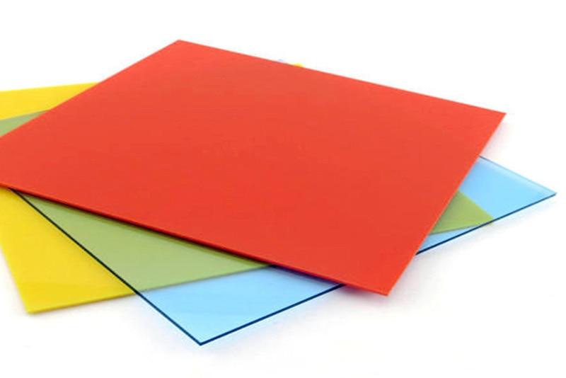"1/8"" thk colored acrylic plastic"