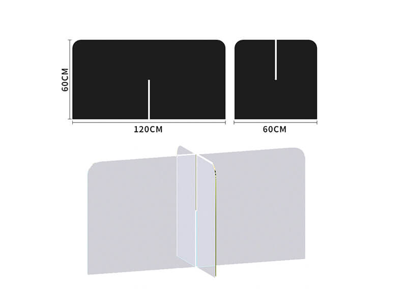acrylic partition