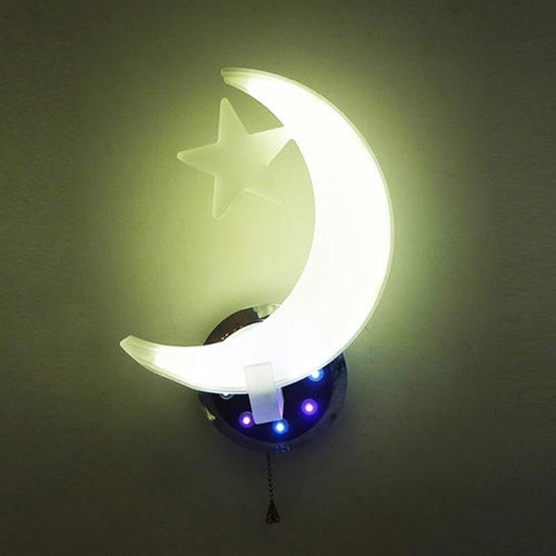 Moon Acrylic lamp