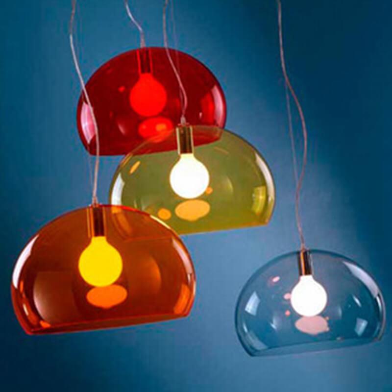 Color acrylic lamp