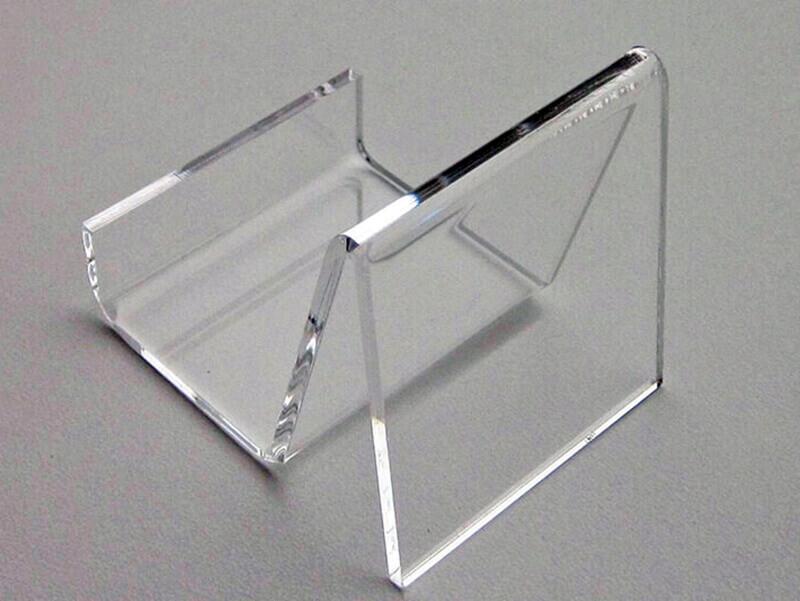 Clear acrylic plastic