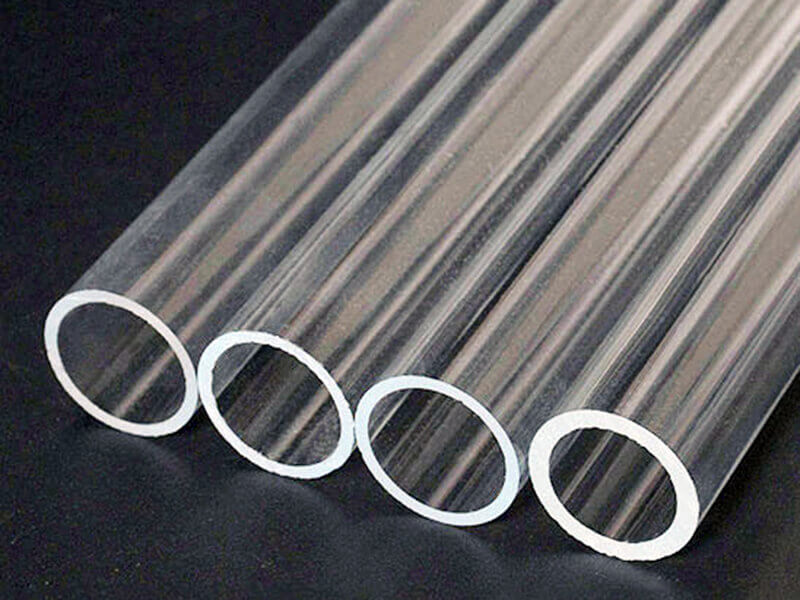 Applications of clear Plexiglass tube
