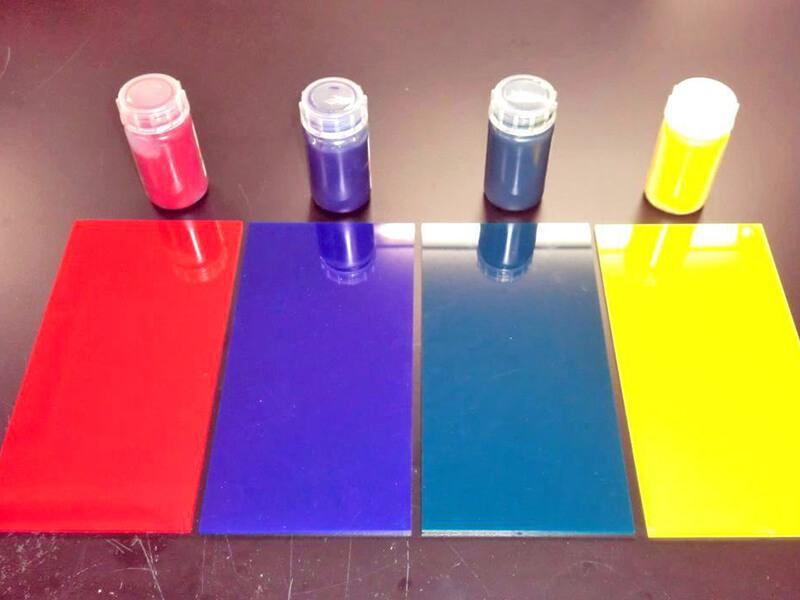 Dye Acrylic Plastic